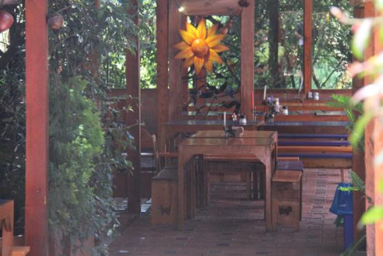 Interior restaurante la granja