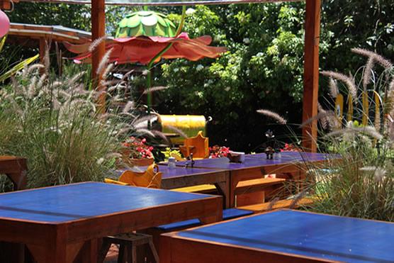Mesas restaurante la granja
